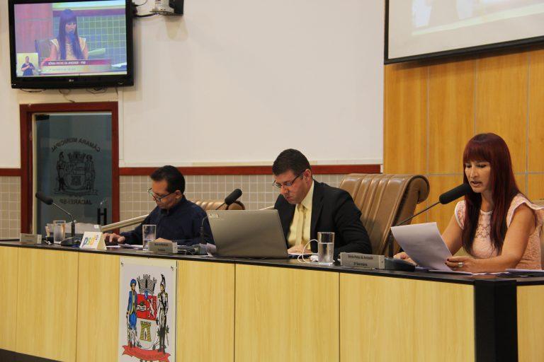 Câmara discute criação de cargo e Mobilidade Urbana em sessão ordinária