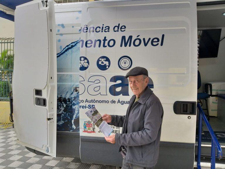 SAAE fará atendimento móvel em 17 bairros no mês de março