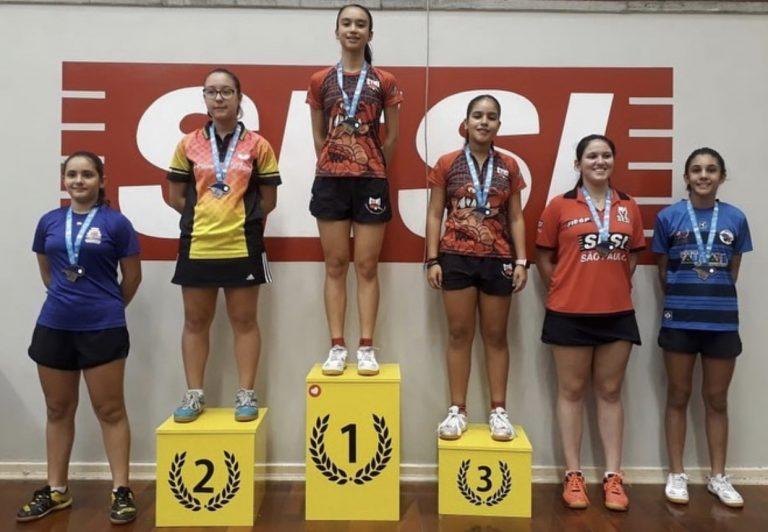 Tênis de Mesa: Jacareí conquista 12 medalhas na Liga Valeparaibana