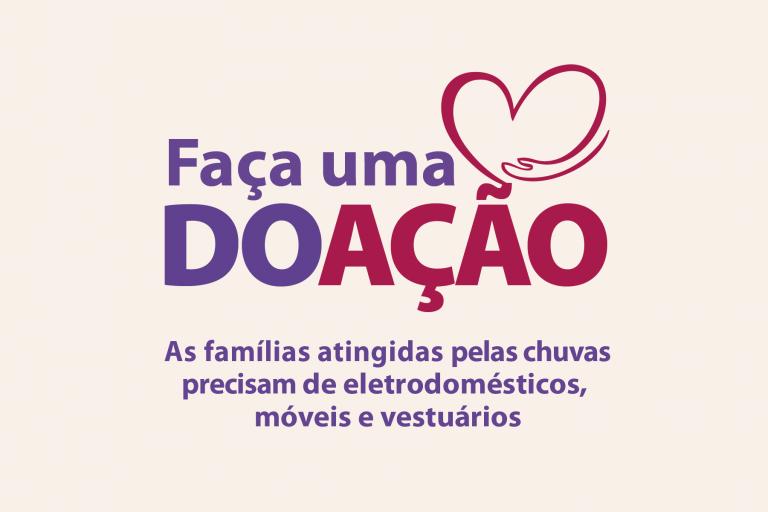 Jacareí inicia campanha de doação para as famílias afetadas pela chuva na cidade