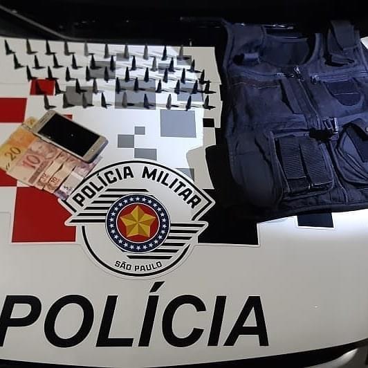 Adolescente é detido com cocaína em Jacareí