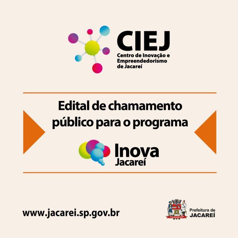 Secretaria de Desenvolvimento Econômico lança edital de chamamento para o Programa Inova Jacareí