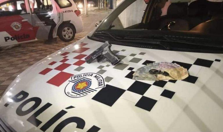 Dupla que havia acabado de assaltar pizzaria é presa em Jacareí