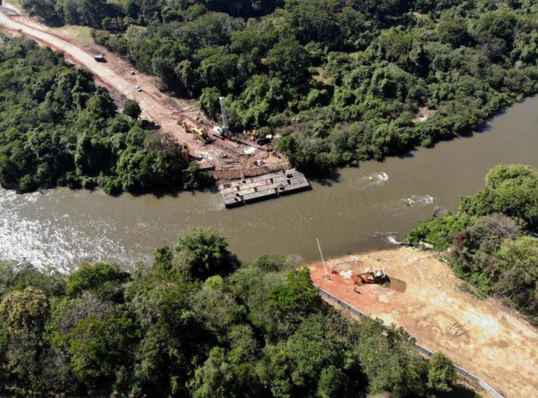 Obras da terceira ponte em Jacareí tem etapas concluídas