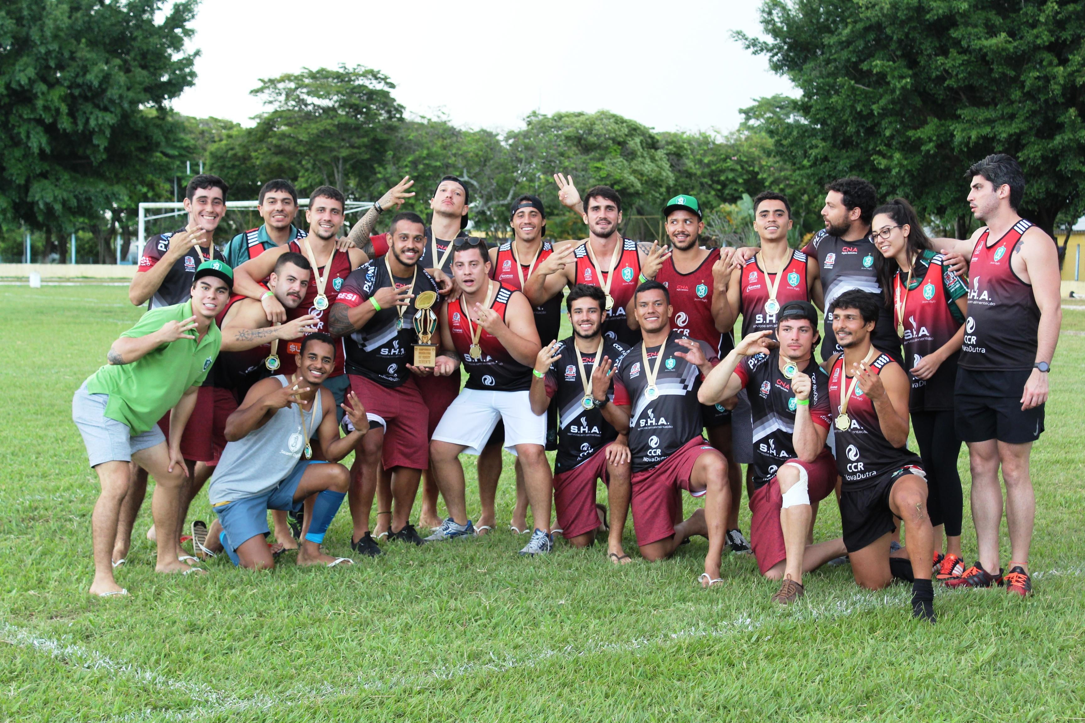 Jacareí Rugby encerra 2020 como o único clube campeão no rugby brasileiro