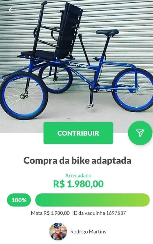 Grupos de ciclistas organizam evento beneficente em prol de deficientes físicos em Jacareí