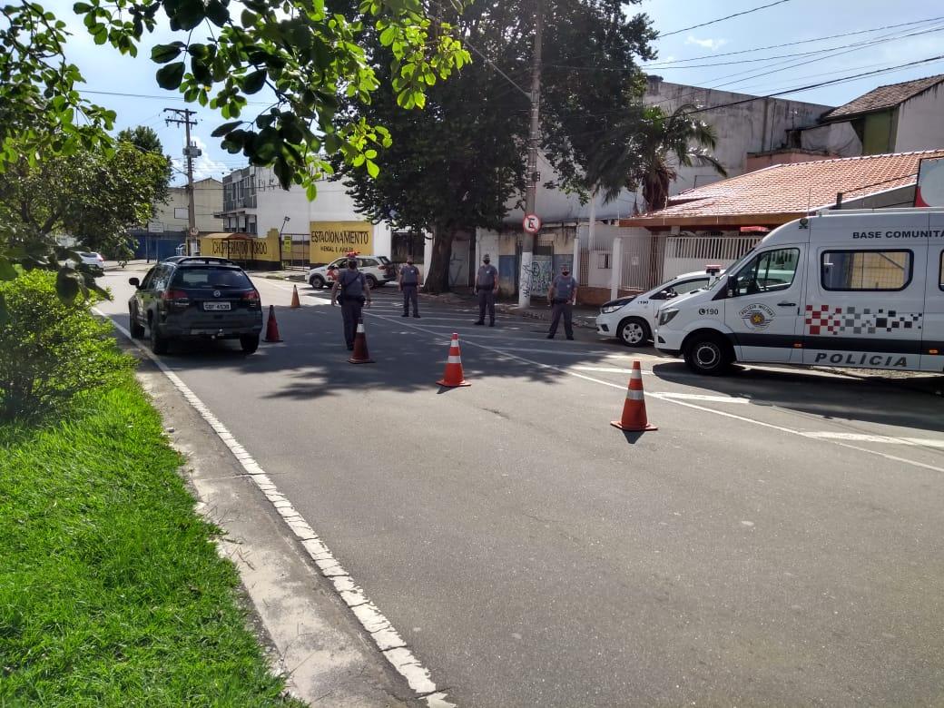 Polícia Militar realiza operação em Jacareí