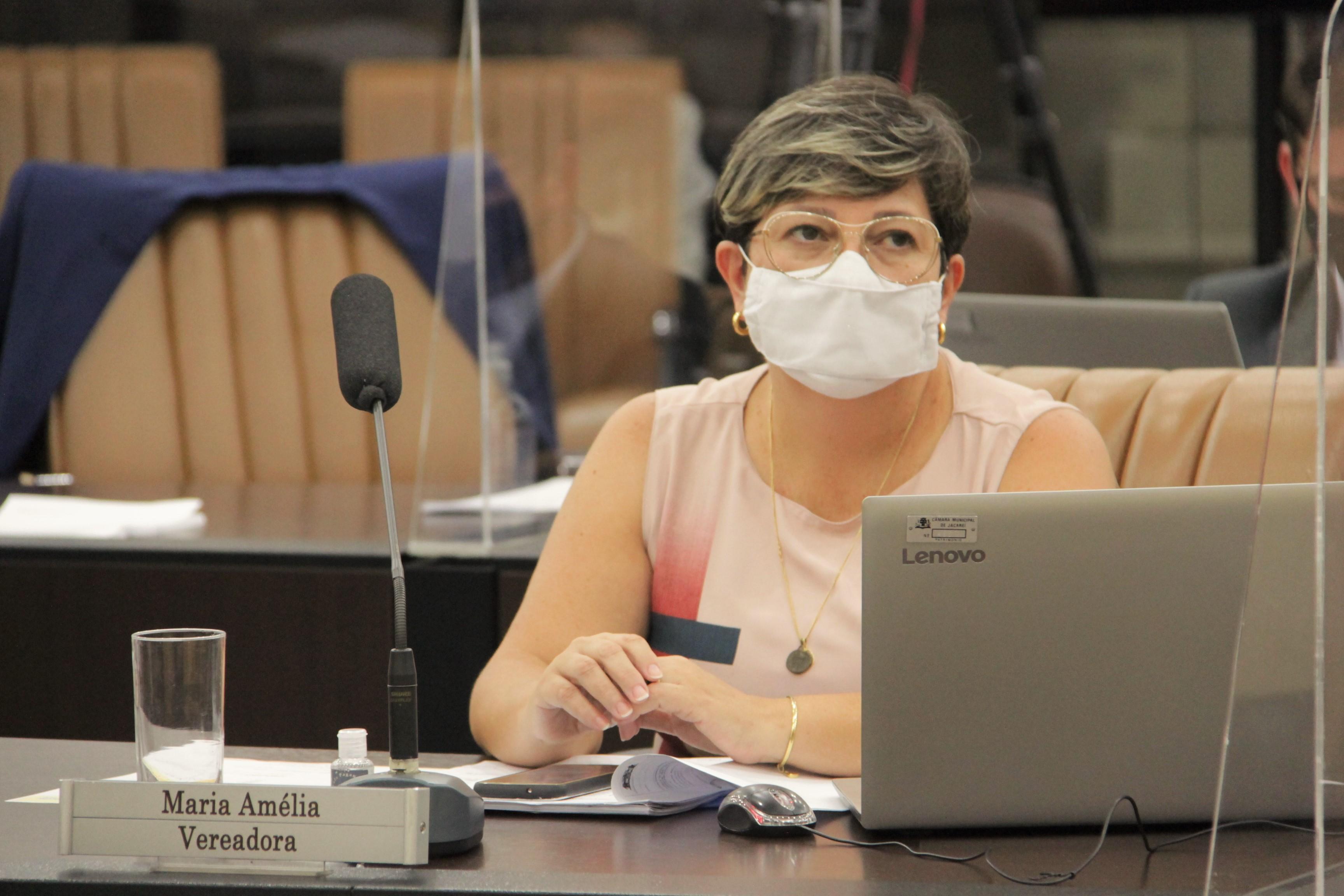 Maria Amélia pede redutores de velocidade na Nilo Máximo