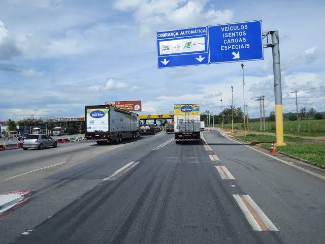 Pedágio da via Dutra terá novo valor a partir do dia 27 de fevereiro