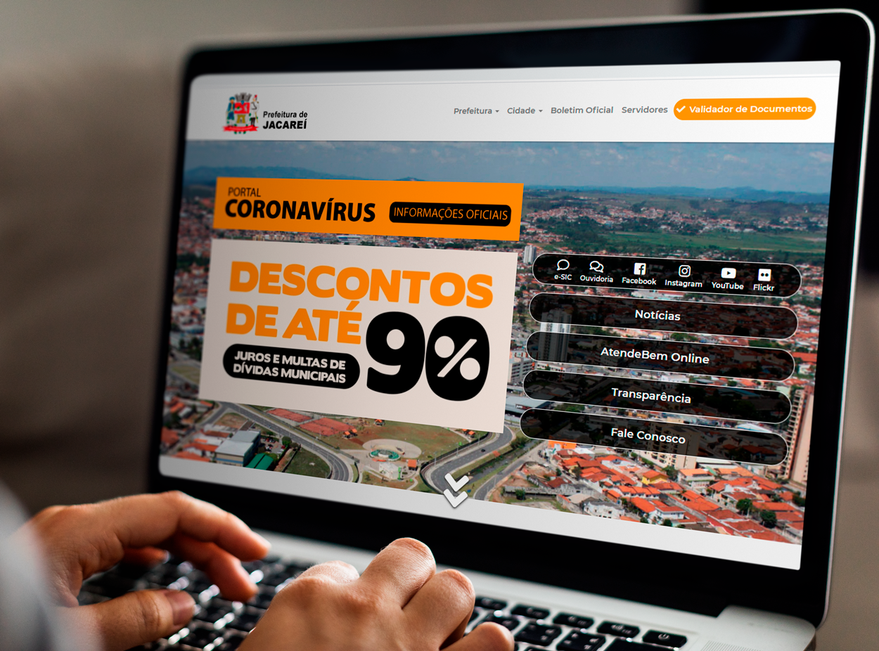 Contribuinte de Jacareí pode negociar descontos de 50% a 90% em multas e juros sobre dívida ativa