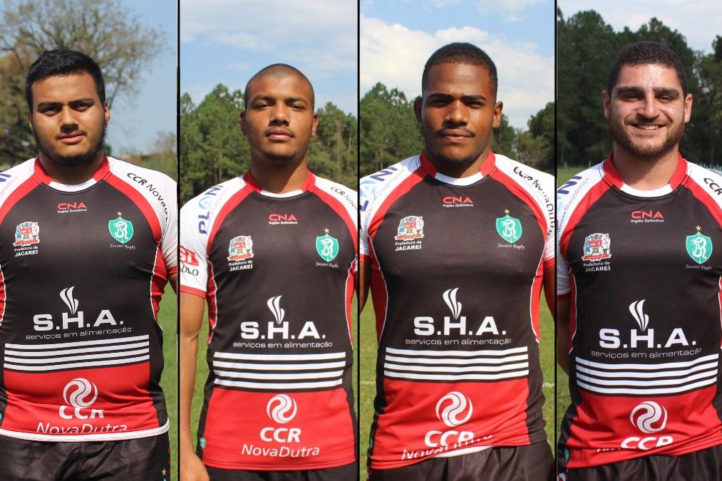 Jacareí Rugby tem quatro integrantes para defender os Cobras Brasil XV na Superliga Americana de Rugby