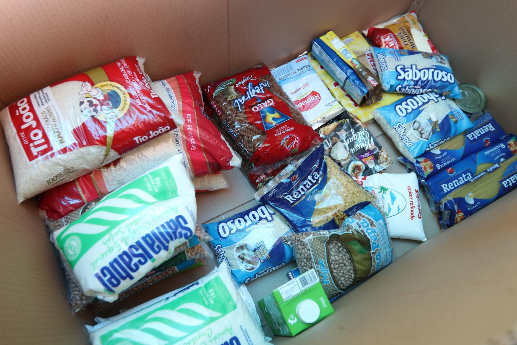 Vacina Contra a Fome: mais de 1,5 tonelada de alimentos foi arrecadada na primeira semana da campanha em Jacareí
