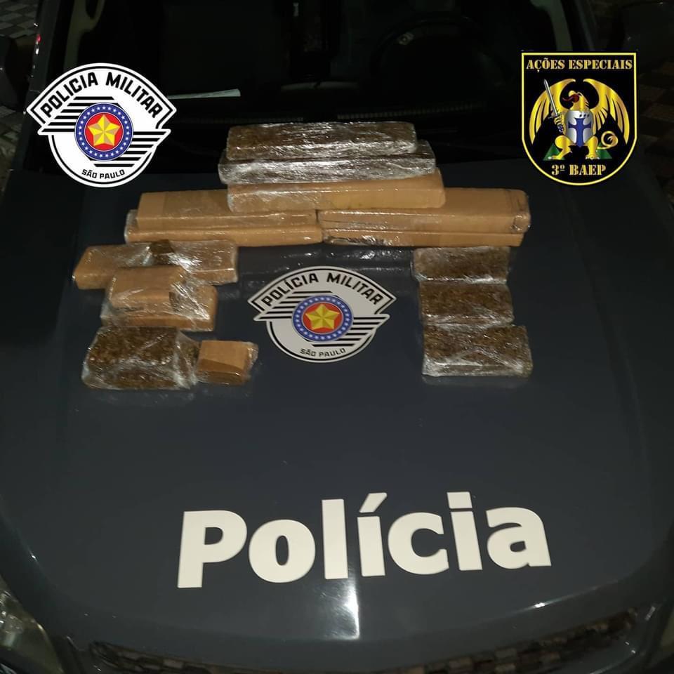 Polícia Militar prende traficante em Jacareí