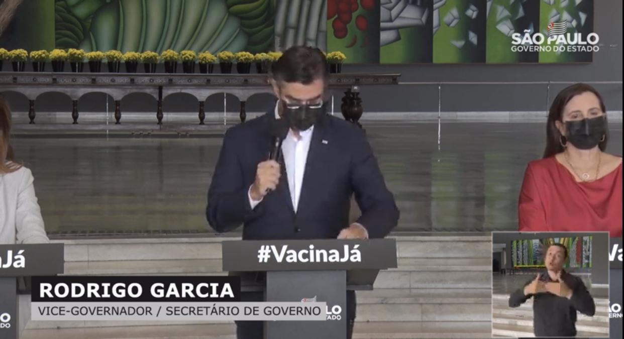Estado de São Paulo avança pra fase vermelha