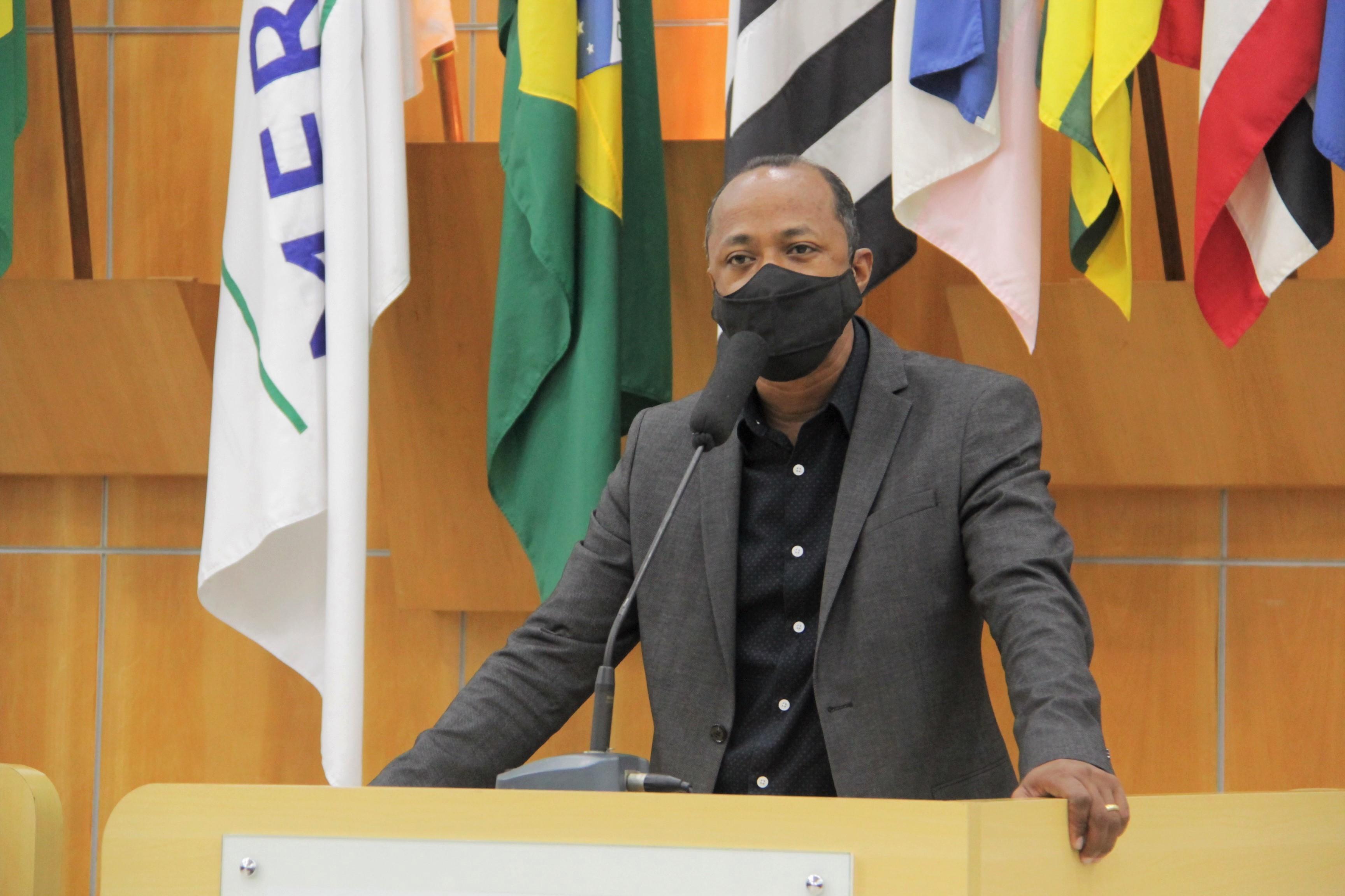 Rogério Timóteo pede intensificação de rondas da PM no Jardim do Marquês