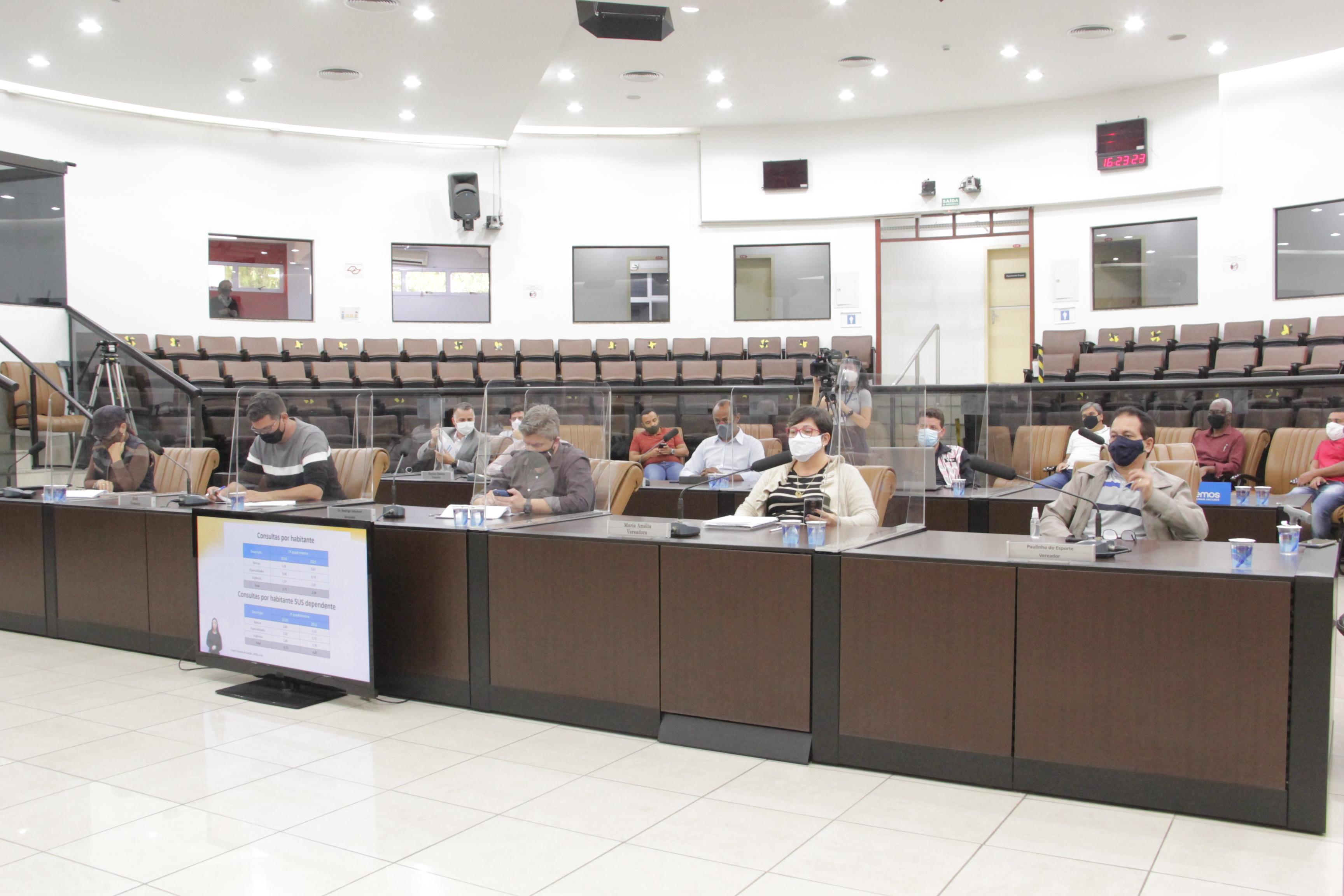 Secretaria de Saúde apresenta dados do primeiro quadrimestre de 2021 em Jacareí