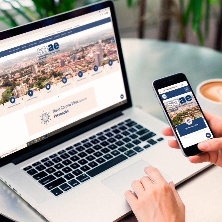 SAAE lança novo site com ferramentas online