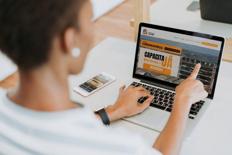 Jacareí tem mais de 20 cursos gratuitos com inscrições abertas