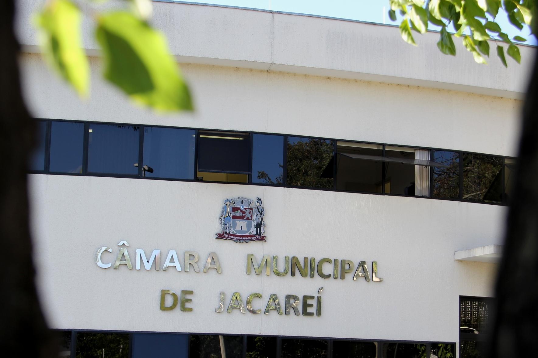 Câmara de Jacareí vota três projetos na Ordem do Dia desta quarta-feira