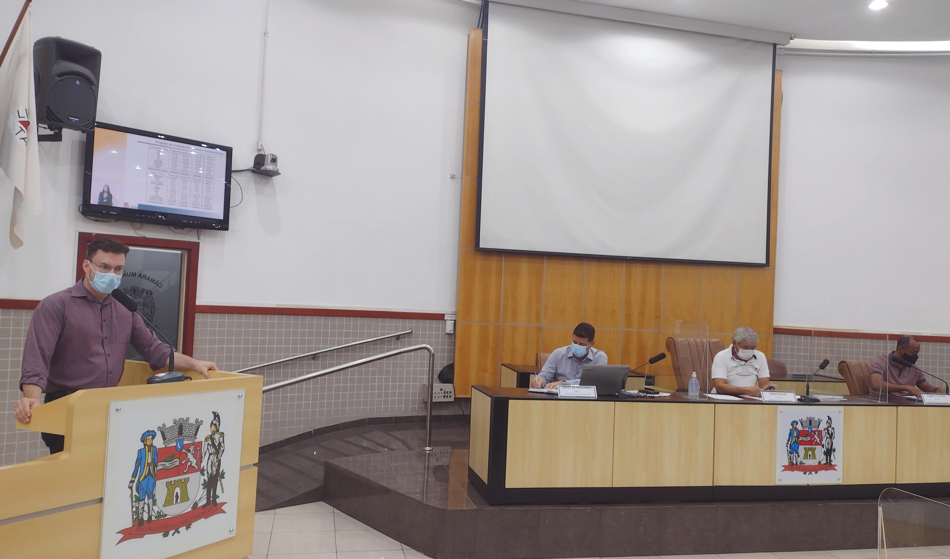 Câmara realiza audiência para apresentação da Lei de Diretrizes Orçamentárias