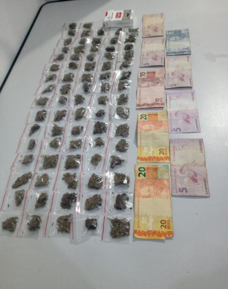 Homem é preso por tráfico de drogas em Jacareí