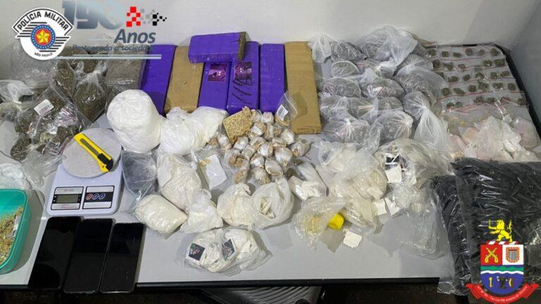 Dupla é presa por tráfico de drogas em Jacareí