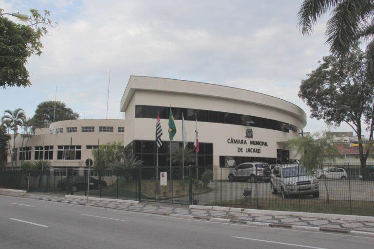 Câmara de Jacareí discute três projetos na sessão de quarta-feira