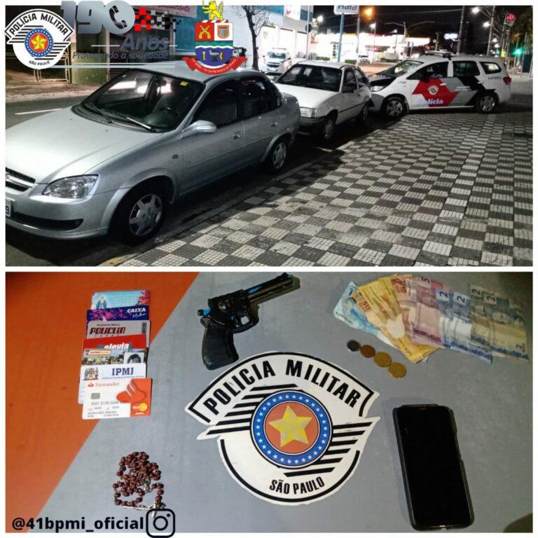 Adolescentes são detidos por roubo de veículo em Jacareí